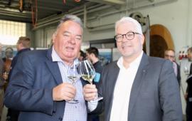 Kaspar Wetli (links) mit seinem Nachfolger Martin Wiederkehr (Foto: Roland Müller)