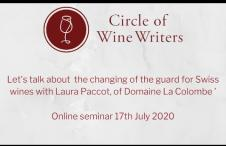 Let's talk about the changing of the guard for Swiss wines with Laura Paccot, of Domaine La Colombe