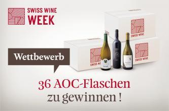 Schweizer Wein Woche Wettbewerb