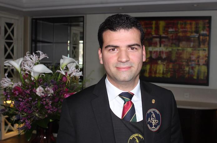 Sommelier finaliste Fabien Mene