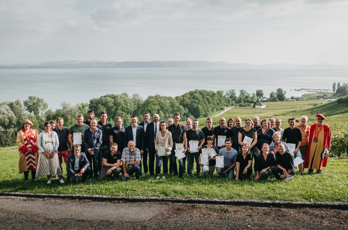 Sélection des vins de Neuchâtel