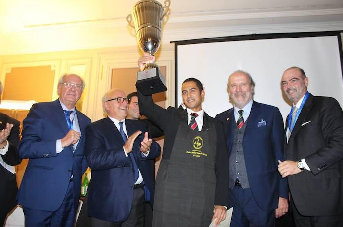 Meilleur Sommelier de Suisse 2016 Reza Nahaboo